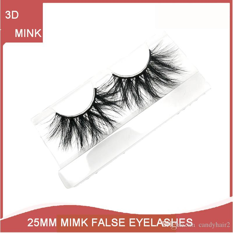 The Goddess Of Love 25mm Lashes 3d Long Mink Hair Eyelashes Thick