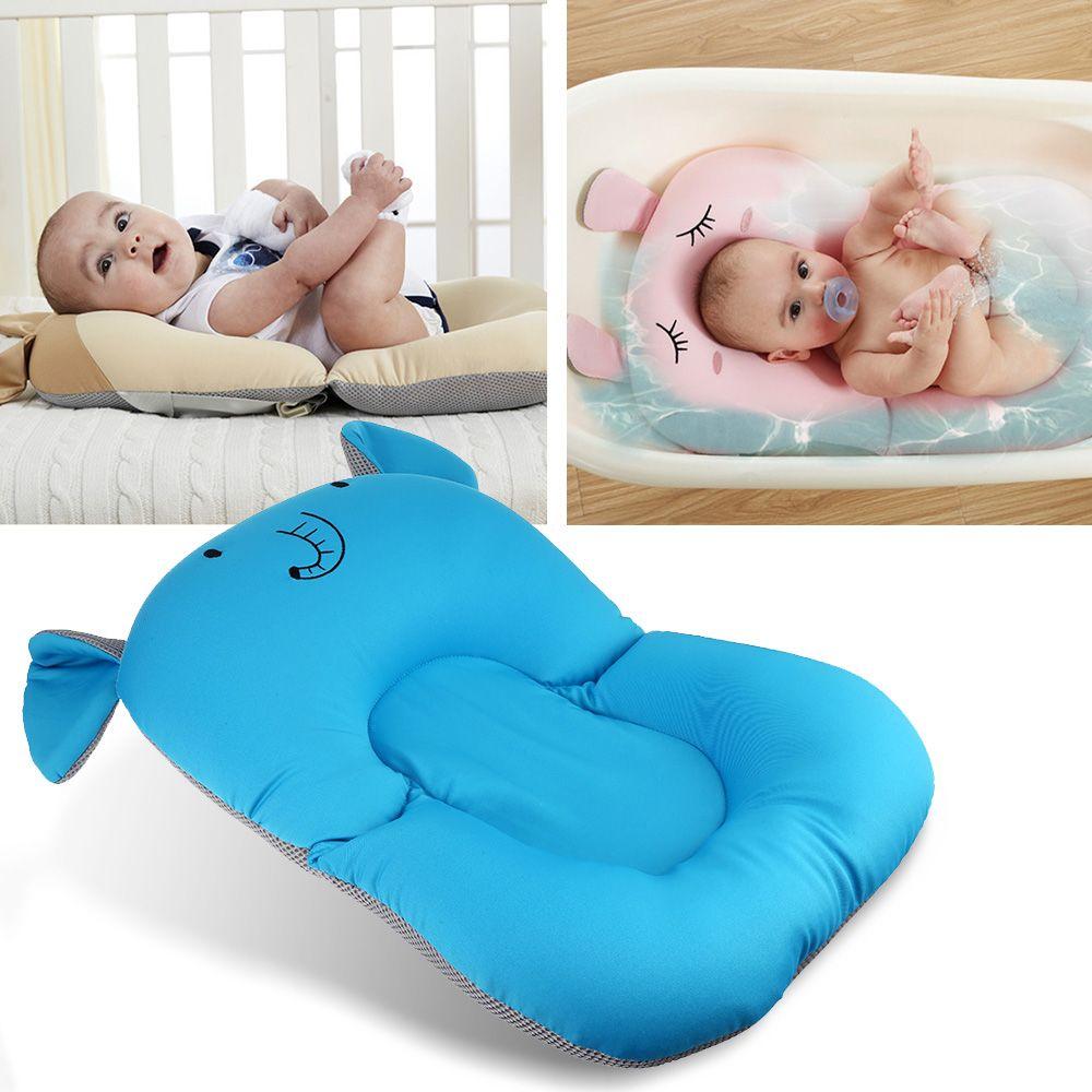 2019 Anti Skid Baby Bath Mat Foldable Shower Seat Infant