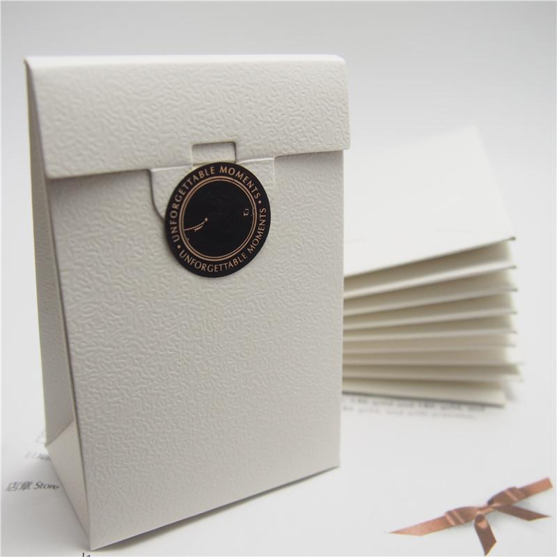 Start Mini White Paper Box Package Gift Bag With Wrapping Paper For Pandora Charm Bead Necklace Earrings Ring Jewelry Packaging