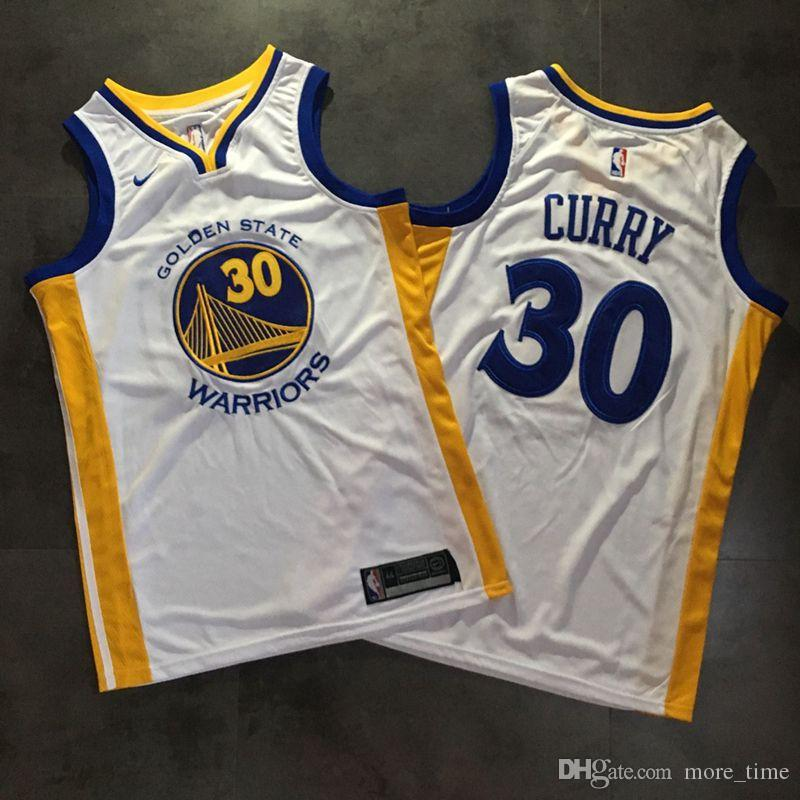huge selection of bdcbb 0ba56 Mens Stephen Curry Home Swingman Jersey High Quality Golden 2019 State  Warrior Stephen 30 Curry Authentic Basketball Jersey Dense Embroidery