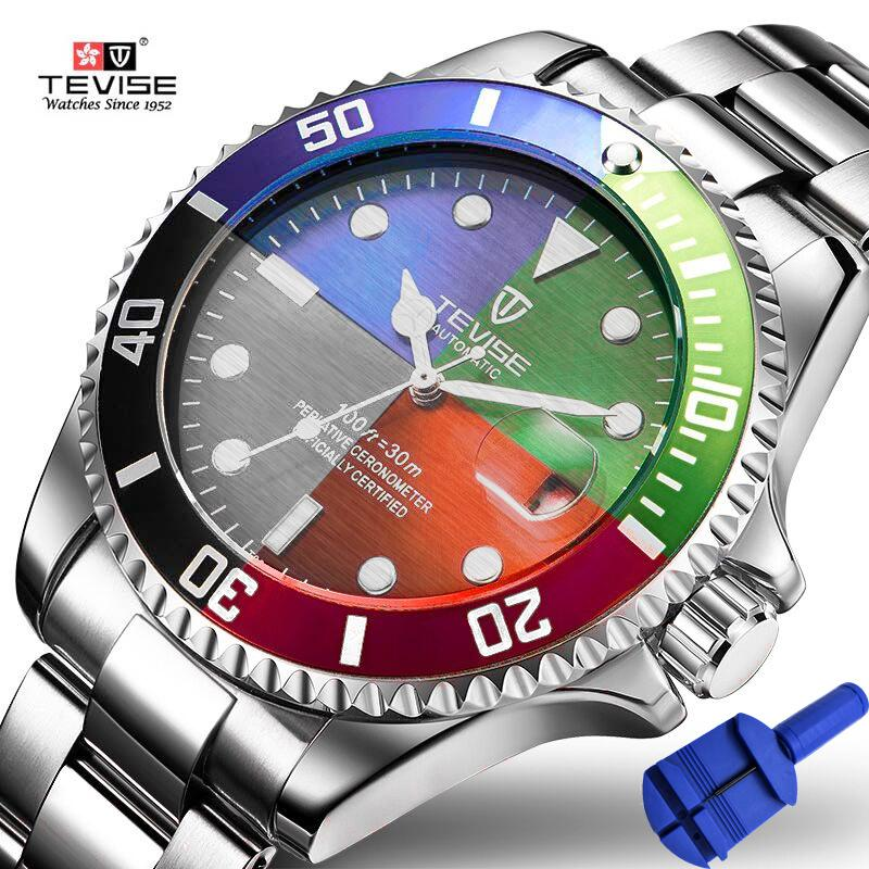 2018 Top Brand Men Mechanical Watch Automatic Date Fashion Wristwatches Sport Gold Clock Relogio Masculino Drop Shipping