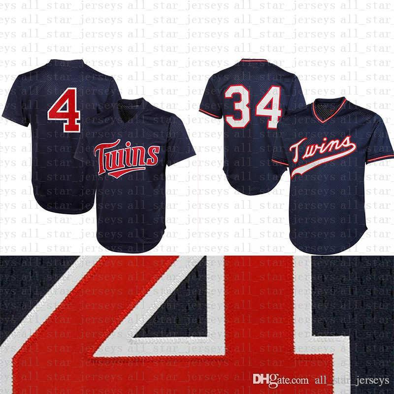 cfb0e169a88 2019 Adult Red Blue 2 Brian Dozier 22 Miguel Sano Retro Mesh Minnesota 4  Paul Molitor Twins Baseball Jersey34 Kirby Puckett Jersey Cool Base From ...