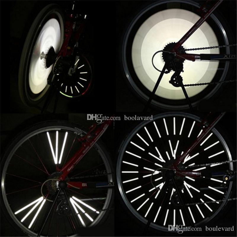 9ffb7a8a66c 2019 Cycling Bicycle Spokes Wheel Reflective Bike Spoke Reflector Warning  Strips Clip 8mm A16 A23 From Boulevard, $1.17 | DHgate.Com