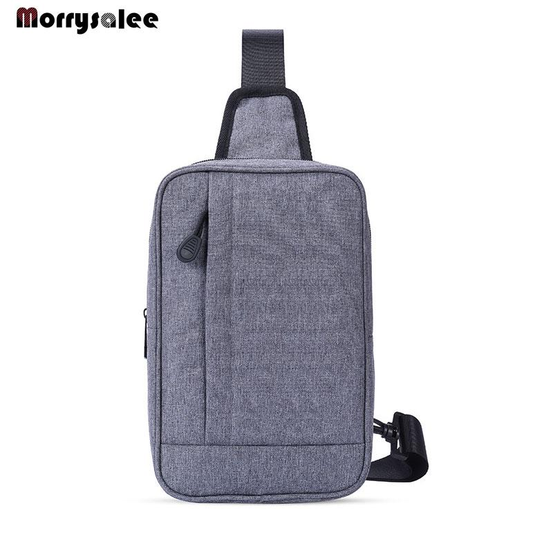 Waterproof Shoulder Bags Men Business Style Chest Bag Male Nylon ... 9179835c15203