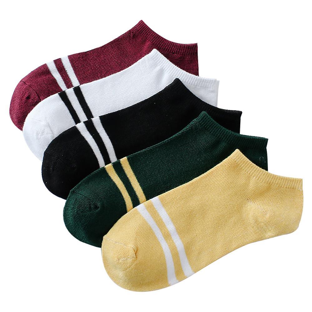 1005f70ea0bc Acquista Calzini 1 Paia Unisex Stripe Comodo Pantalone In Cotone Con Calzini  Corta Calzini Alla Caviglia Funny Streetwear Calcetines Meias A  38.11 Dal  Lucu ...