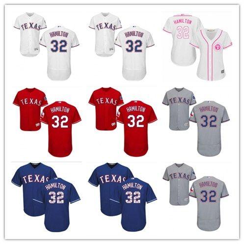 new arrival 91aaf 22a9c 2018 top Texas Rangers Jerseys #32 Josh Hamilton Jerseys  men#WOMEN#YOUTH#Men s Baseball Jersey Majestic Stitched Professional  sportswear
