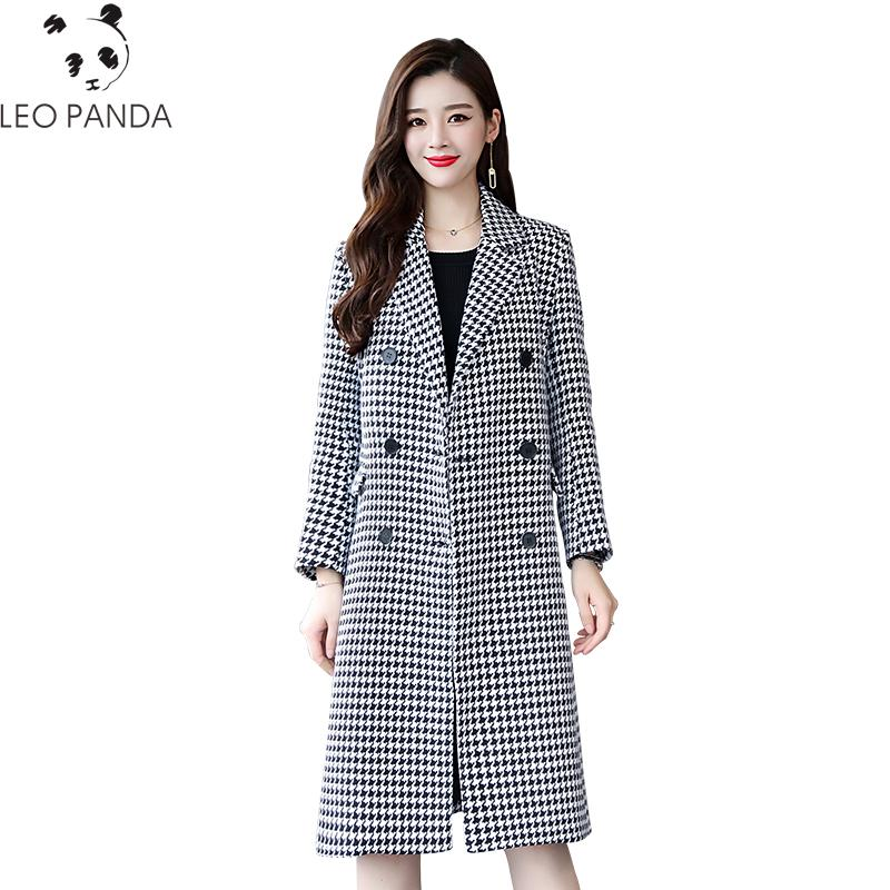 738fe7583 2019 New Autumn Fashion Women S Office Style Double Breasted Winter ...