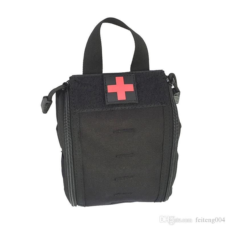 Tactical First Aid Kit Bag Multi-Function Molle Medical Cover Emergency  Military Package Outdoor Bag High Quality #376154