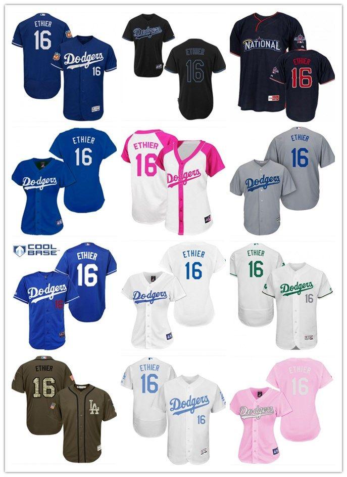 huge selection of 3494b f6a2e 2018 top Los Angeles Dodgers Jerseys #16 Andre EthierJerseys  men#WOMEN#YOUTH#Men s Baseball Jersey Majestic Stitched Professional  sportswear