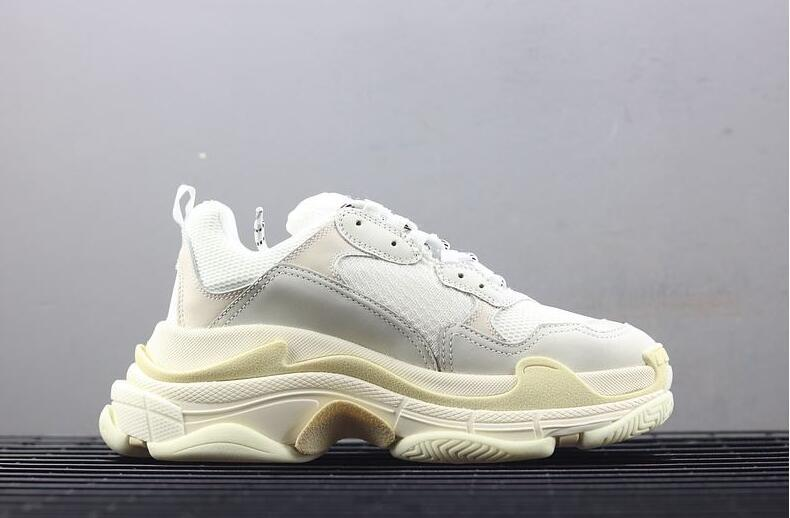 bc3ae743294c Grade A 17FW Triple S Casual Shoes Luxury Dad Shoe Triple S Sneakers For Men  Women Unveils Trainers New Arrival 2018 Men Dad Sneakers Casual Shoes For  Men ...