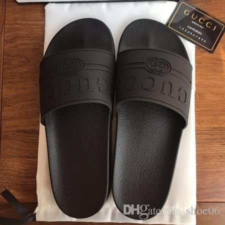 f663bf9f7 Slippers Sandals Designer Slides Luxury Top Brand Designer Shoes ...