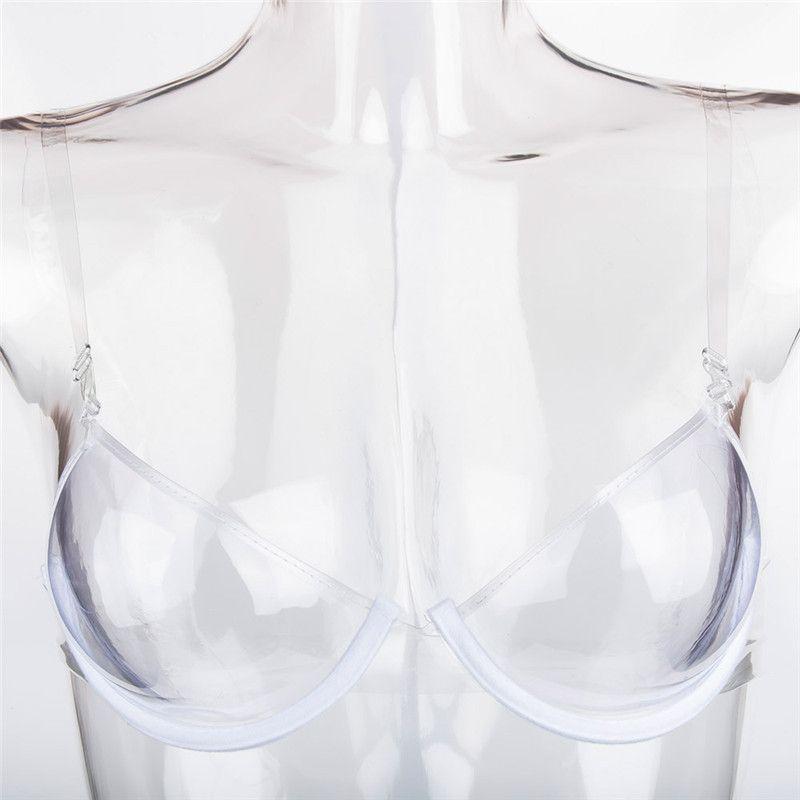 authentic quality footwear size 40 Sexy Femmes Invisible Soutien-Gorge Transparent Plastique TPU Push Up Bras  One Off Clear Bra Soutien-gorge Jetable One Time Bust Shaper Underwear ...