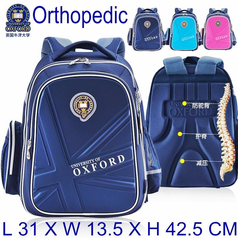 bb758a4d07 HOT SALE University Of Oxford Orthopedic School Bags Children Backpack  Portfolio Rucksack For Teenagers Boys Girls Y18120303 Sale Backpacks  Colorful ...