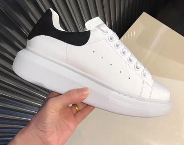 2baa3c97 2018 Nueva Moda Para Mujer De Lujo Para Hombre Zapatos Casuales Zapatos De  Plataforma De Cuero Blanco Zapatos Casuales Planos Dama Zapatillas De  Deporte ...