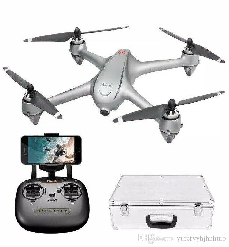 Potensic GPS FPV RC Drone, D80 with 1080P Camera Live Video and GPS Return Home