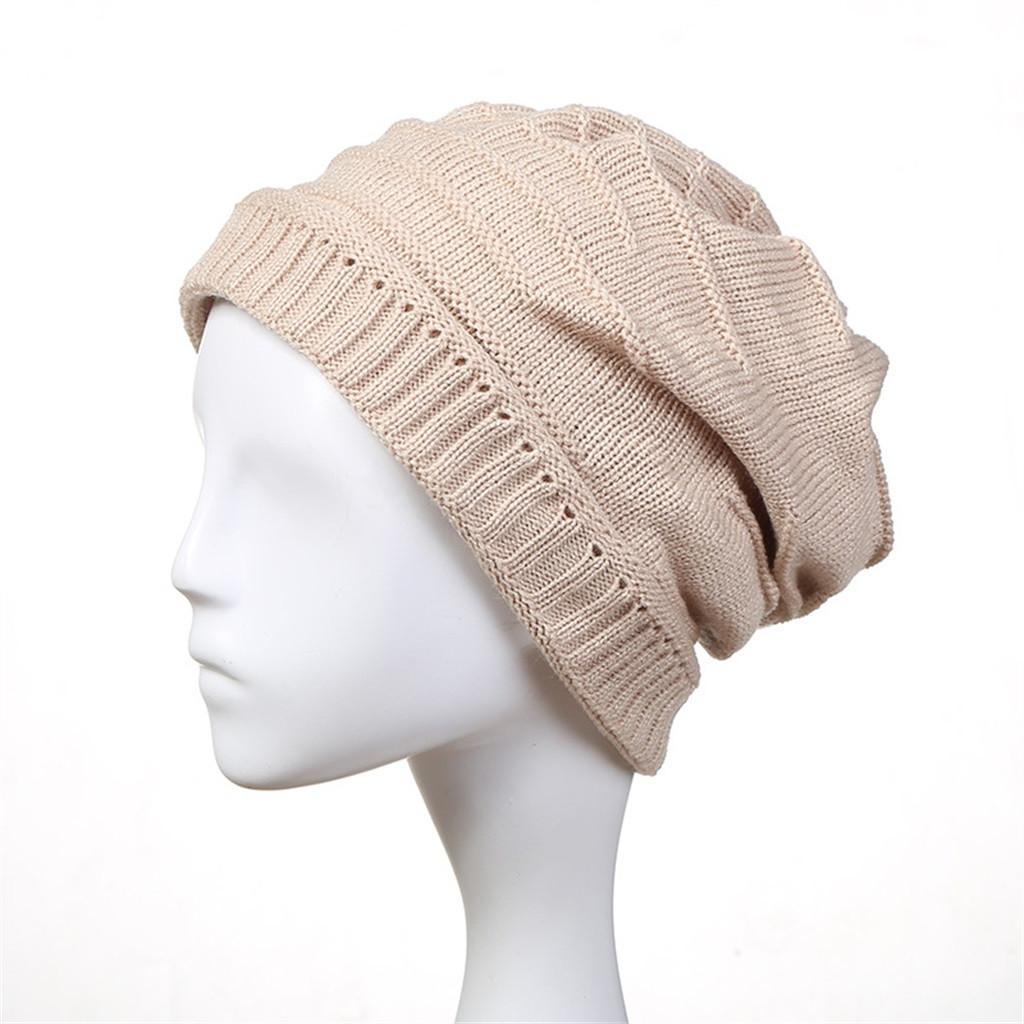 553e55acdb38b JAYCOSIN High Quality Fashion Design Winter Knit Slouchy Beanie Baggy Warm  Soft Chunky Stripe Hats Caps Winter Hats For Women Skullies   Beanies Cheap  ...