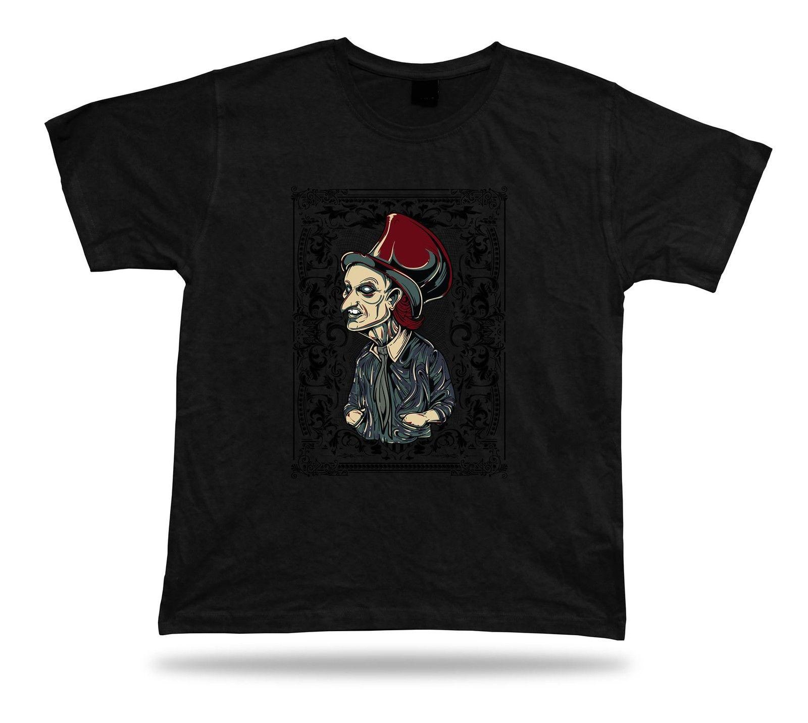 Tshirt Tee Shirt Birthday Gift Idea Evil Wizard Creep Berton Hat Old Man Stylish T Shirts In A Day Awesome Designs From Besttshirts201805