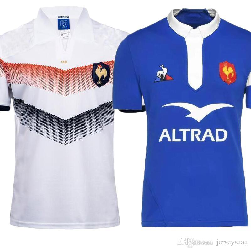 1debe7e803 AAA+2018 2019 New France Super Rugby Jerseys 18 19 France Shirts ...