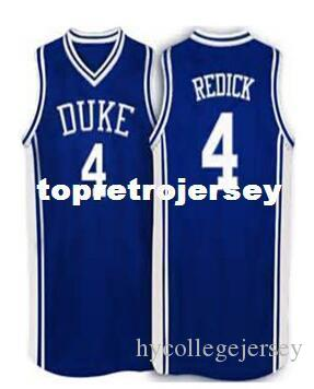 purchase cheap ab6d5 d475f JJ Redick #4 vest T-shirt Jersey blue white Retro Jersey New Material Top  quality embroidery jersey