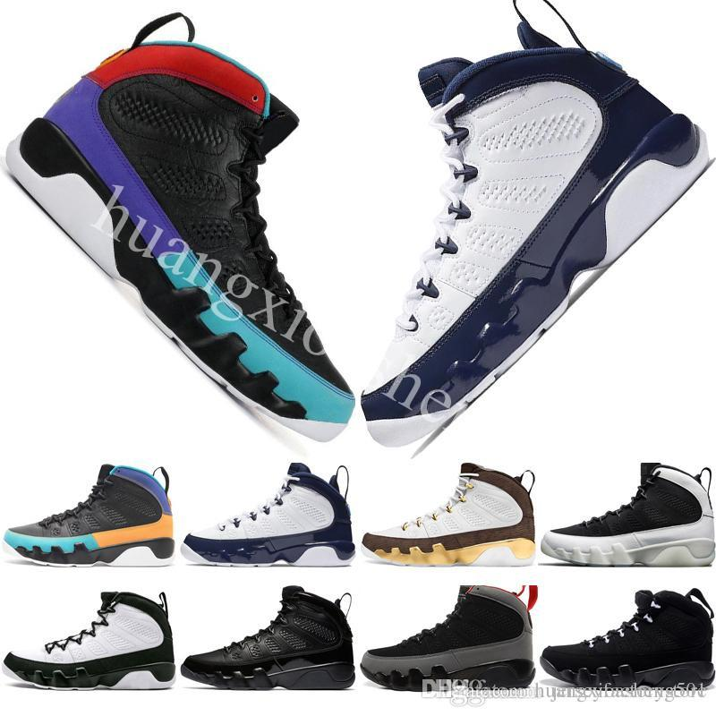 f671db610ab 2019 Dream It Do It UNC 9 IX 9s Mens Basketball Shoes LA Oreo University  Blue Bred Space Jam Men Sports Sneakers US 8 13 From Huangxioasheng501, ...