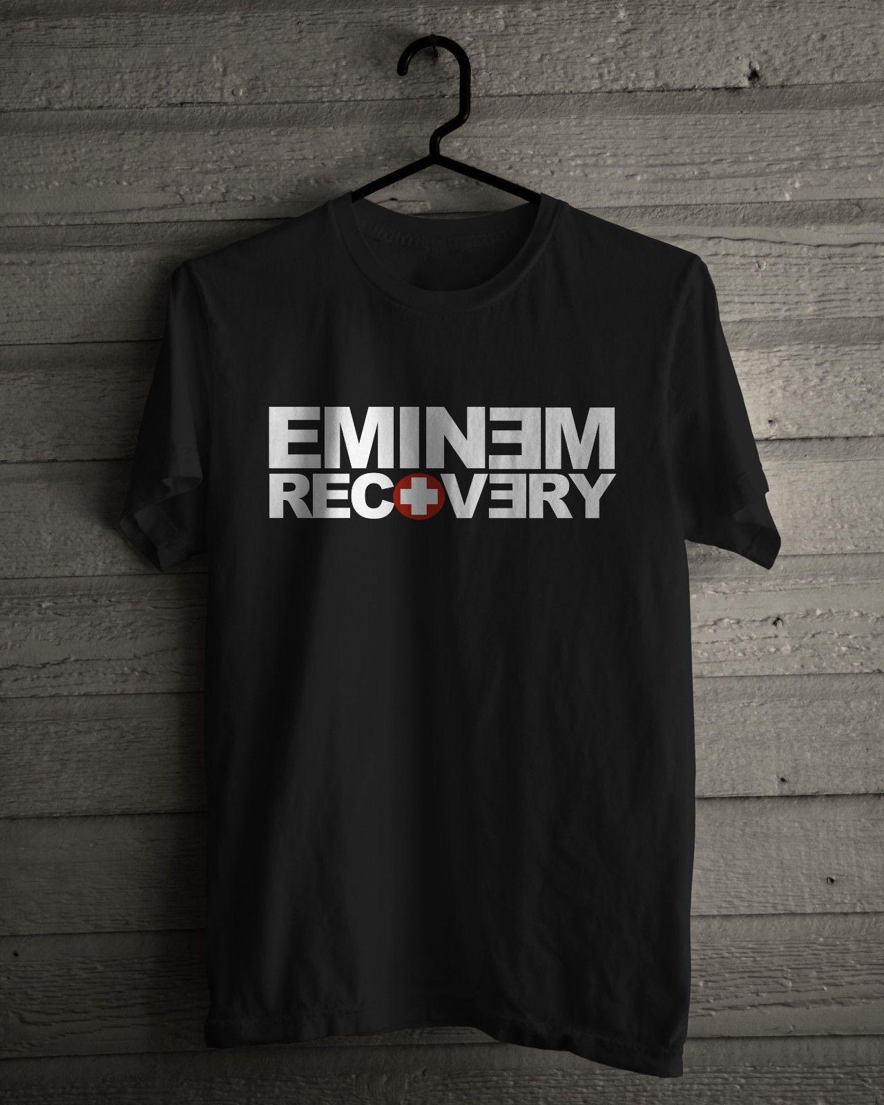 Compre Camiseta De Recuperación De Eminem Camiseta Rap Divertido Envío  Unisex Camiseta Casual Top A  12.96 Del Thebestoree  e2251de96fc