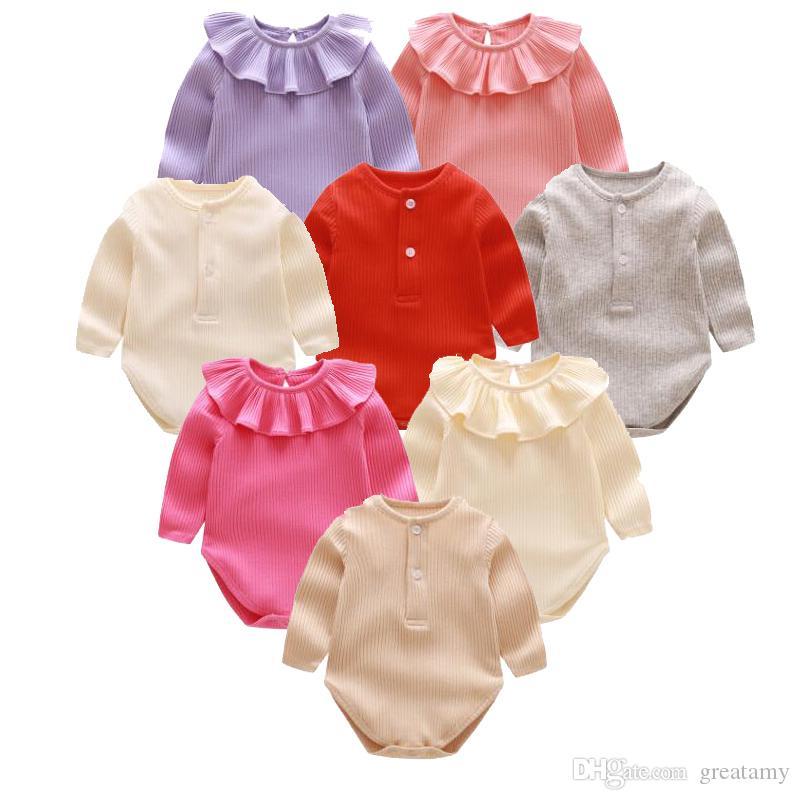 0661ab1ac Newborn Baby Romper Cute Infant One-piece Clothing Jumpsuits Infant ...