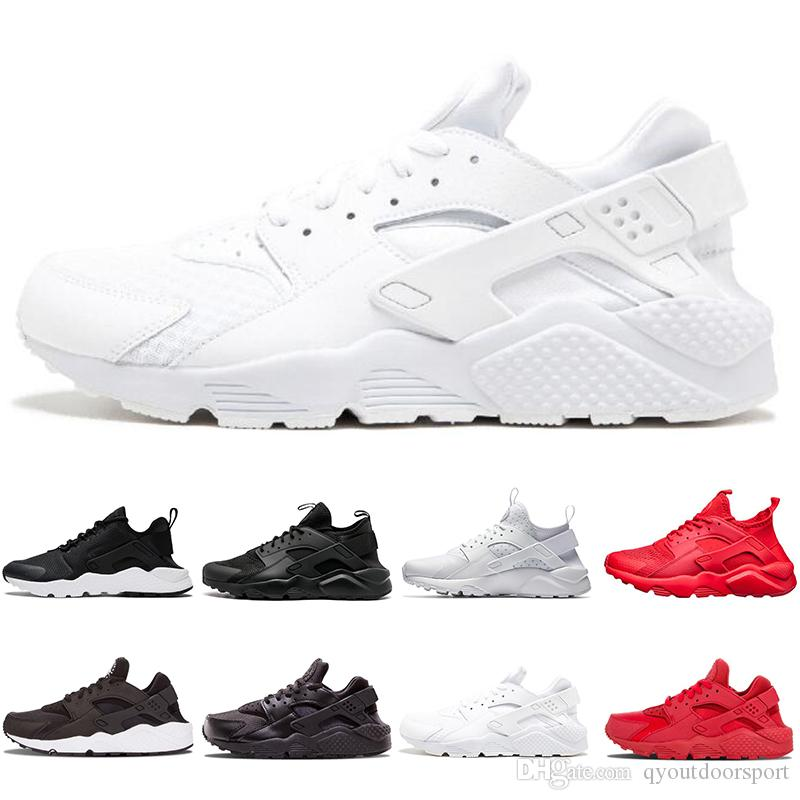 6c2c025589f8 2019 2019 Designer White ACE Huarache 4.0 IV 1.0 Running Shoes Classic  Triple Black Red Men Women Brand Huaraches Luxury Sports Sneakers From  Qyoutdoorsport ...