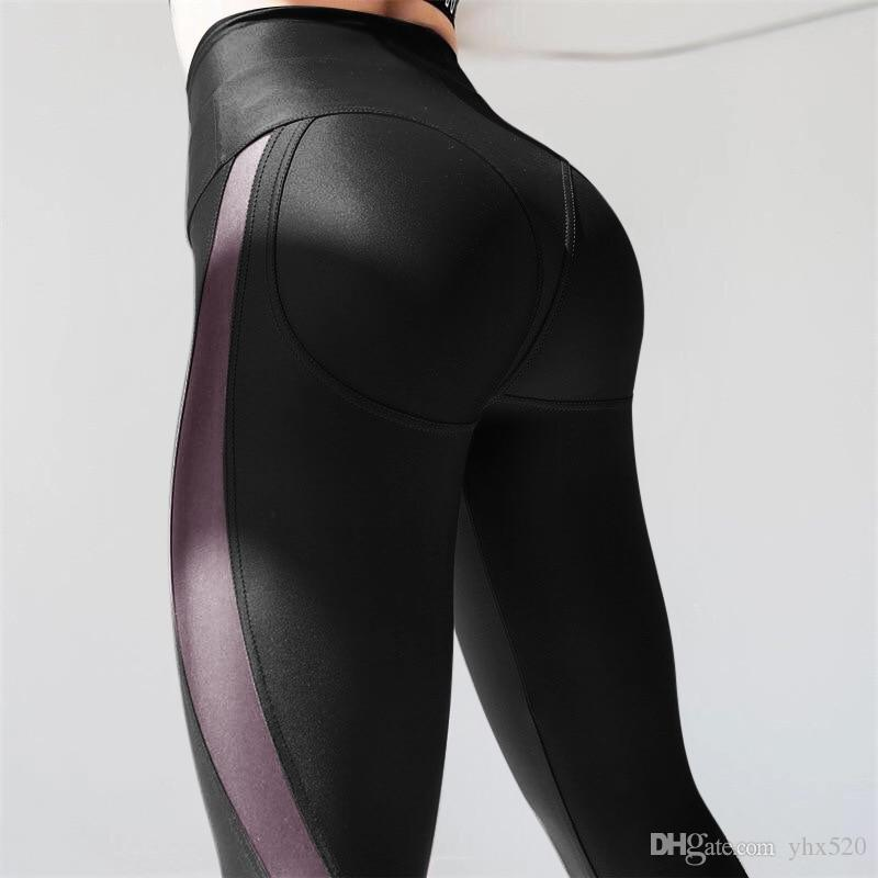 9812e3b512770 2019 2019 New Women Sexy Mesh Yoga Pants Push Up Workout Leggings High  Waisted Gym Running Yoga Pants Slim Fitness Athletic Leggins #874588 From  Yhx520, ...