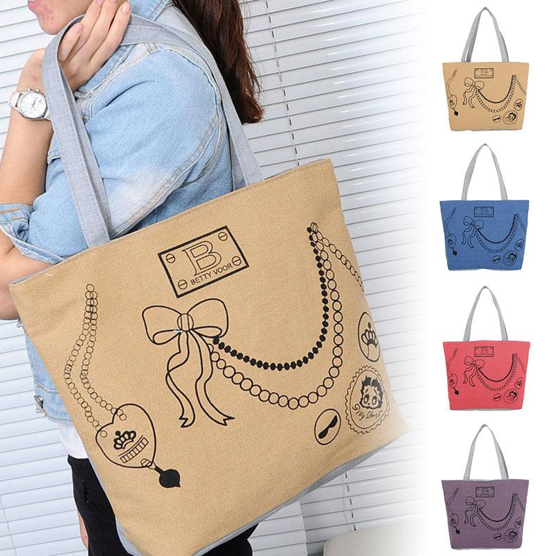 Cheap Fashion2019 Lovely Honeybee Canvas Handbag Preppy School Bag for Girls Women's Handbags Cute Bags FA$B Women bag