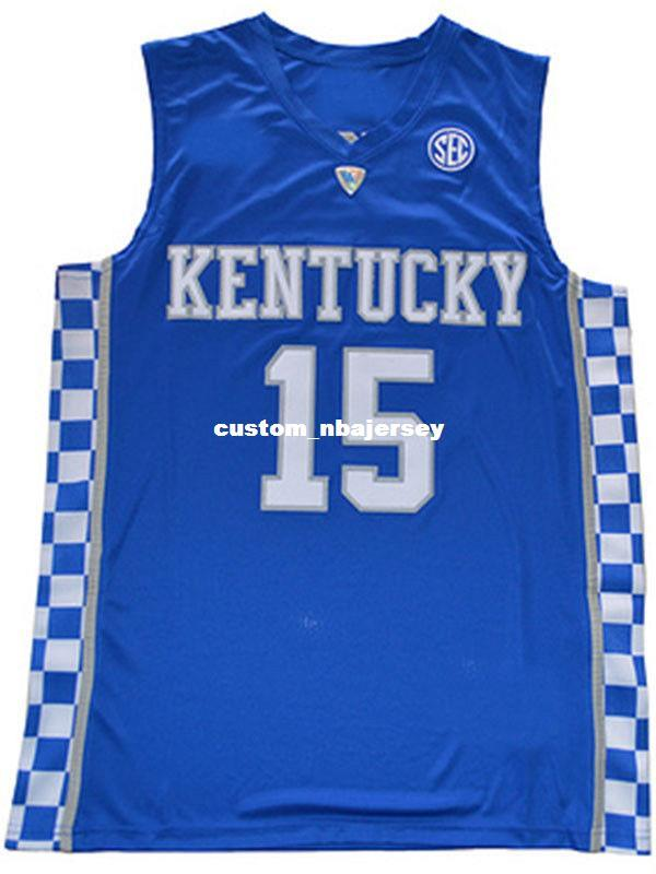 d3231d96286 2019 Cheap Wholesale Demarcus Cousins DAVIS Jersey Kentucky Wildcats Blue  White Sewn Basketball Jersey Customize Any Name Number MEN WOMEN YOUTH From  ...