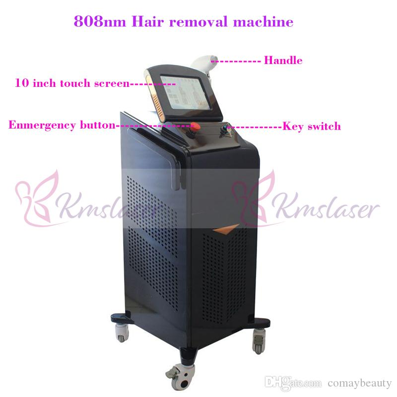 808nm wavelength machine diode 20 million pulse machine diode laser hair  removal equipment germany laser bar Freezing operation System