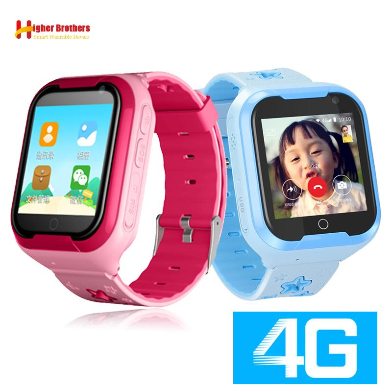 9ff48502ace4 Smart 4G Child GPS WIFI Tracker Kids Android IOS Waterproof Baby SOS Remote  Monitor Camera Video Call Android Watch Wristwatch With Ios Wristwatch Best  ...