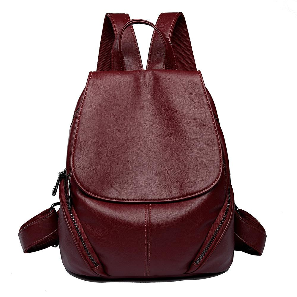 65ec5d93396 Cheap Large Leather Laptop Backpacks Best Vintage Canvas Leather Backpack  for Men