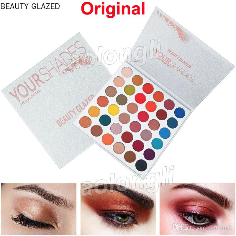 Beauty Glazed Makeup Eyeshadow Palette Your shadow 36 Color Matte Shimmer eye shadow High Pigmented Long Lasting Make up Palette Cosmetics