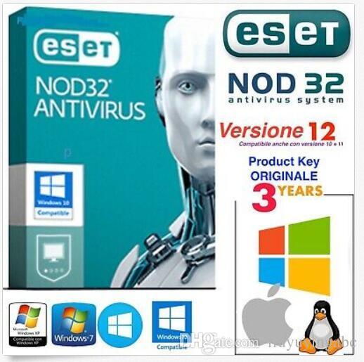 ESET NOD32 Antivirus 2019 License Up To 2022 Product Key 3 ...