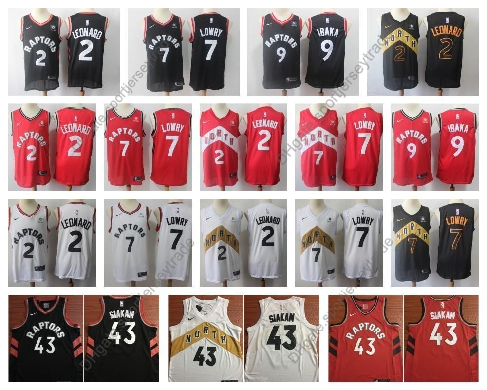 size 40 0be64 b9fad 2019 Earned Mens #2 Toronto Kawhi Leonard Serge Ibaka Kyle Lowry Raptors  Edition Basketball Jerseys City Pascal Siakam 43 Edition Stitched