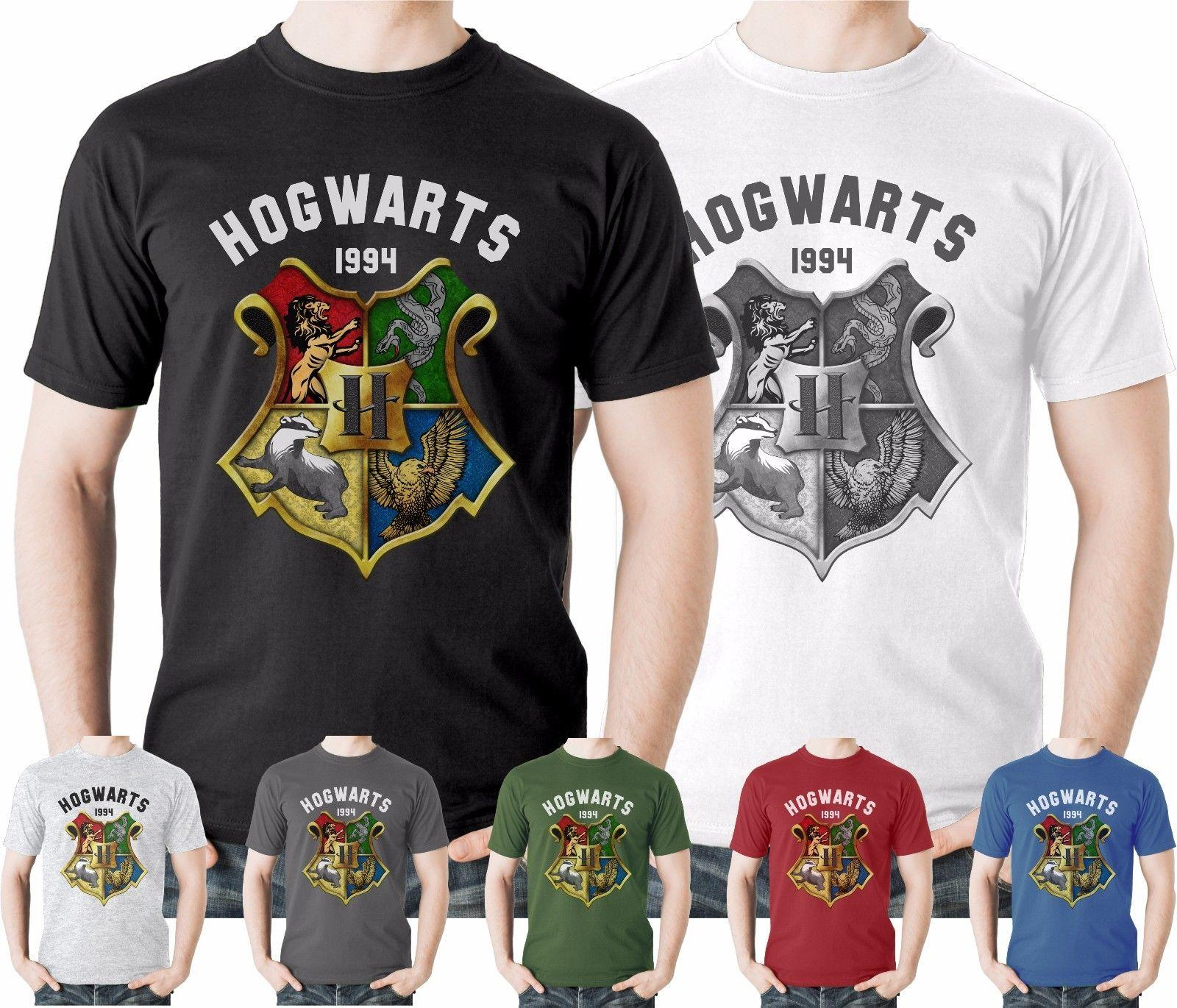 3d1186fb Harry Potter Hogwarts T Shirt Gryffindor Quidditch Slytherin Crest  HermioneFunny Unisex Casual Tshirt Awesome Shirt Design Free T Shirts From  Sg_outlet, ...