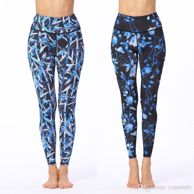 0eb663699ccbfc Women's Printed Athletic Leggings Tommy Control Comfortable Stretching out  Light weight Yoga Pants for Active Wear Yoga workout Casual Wear