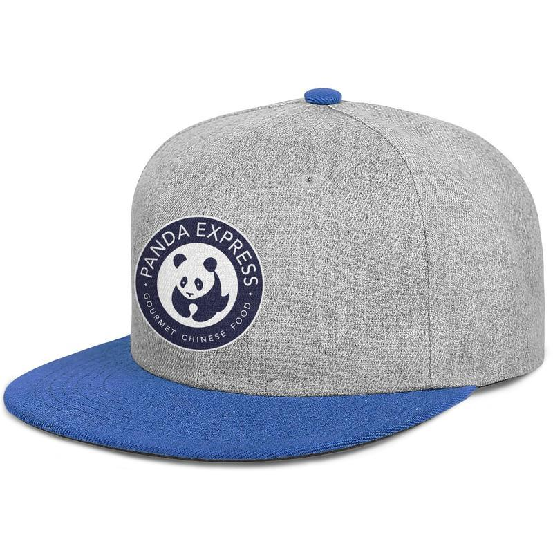 Panda Express logo sign man's Flat-along baseball hat cool adjustable women's fishing cap cute Hip-hop cap mesh summer hats