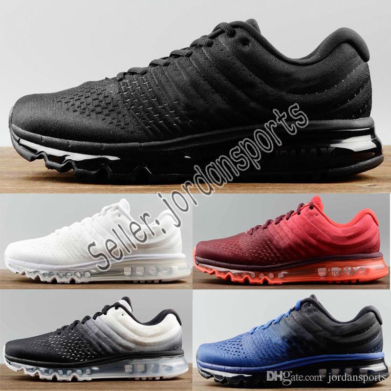 pretty nice 6995d 8b358 Cheap 2019 Max 2017 Mens Running Shoes For Men Women Beture Black Air Neno  KPU Cushion Sneaker Athletic Zapatos Mens Shoes