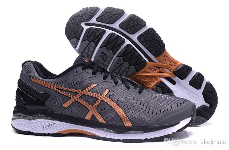 check out bfe04 08390 sport fashion brand GEL-KAYANO 23 for women size36-40 Newest arrival  running men shoes dropshipping