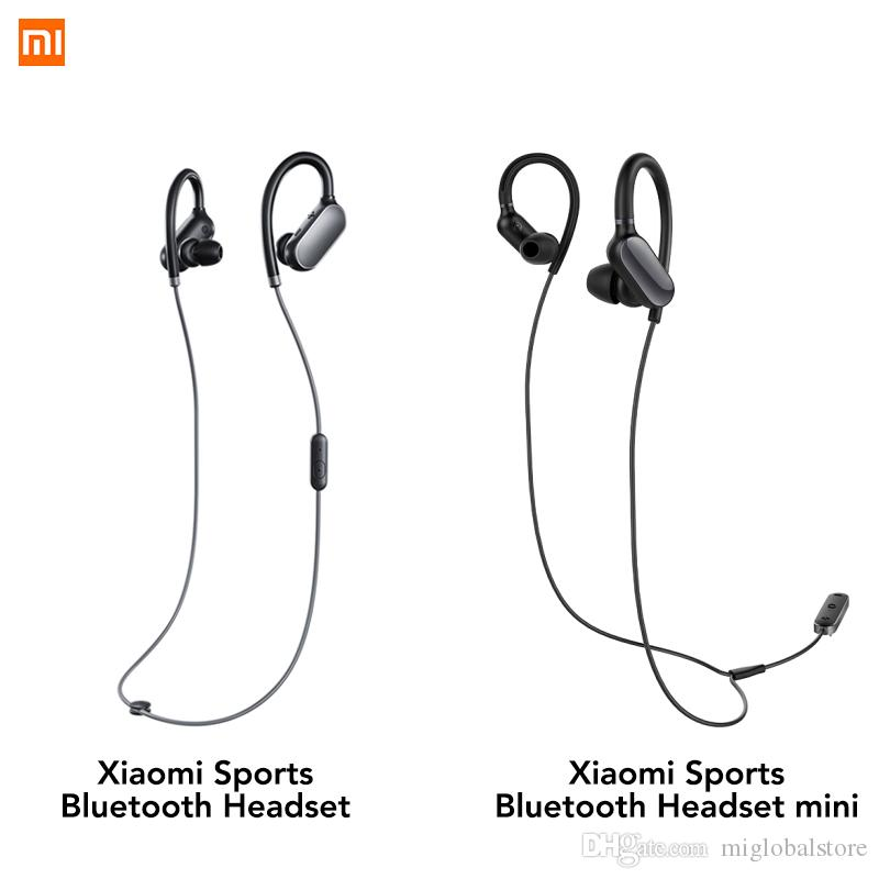 57a89c34088 Original Xiaomi Mi Sports Bluetooth Headset Mini Version Wireless Earbuds  With Microphone Waterproof Bluetooth 4.1 IPX4 Earphone Mobile Headsets  Telephone ...