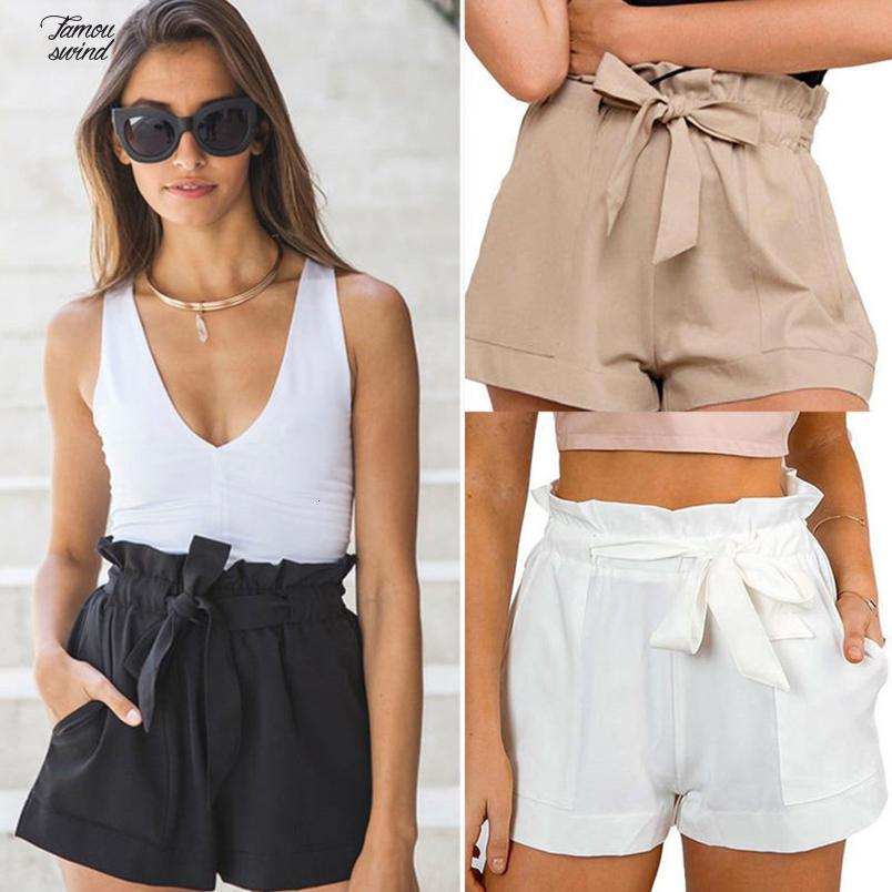 Fashion Shorts New Women Summer Hot Sexy Summer Lace Up Casual Style Shorts High Waist Summer Shorts