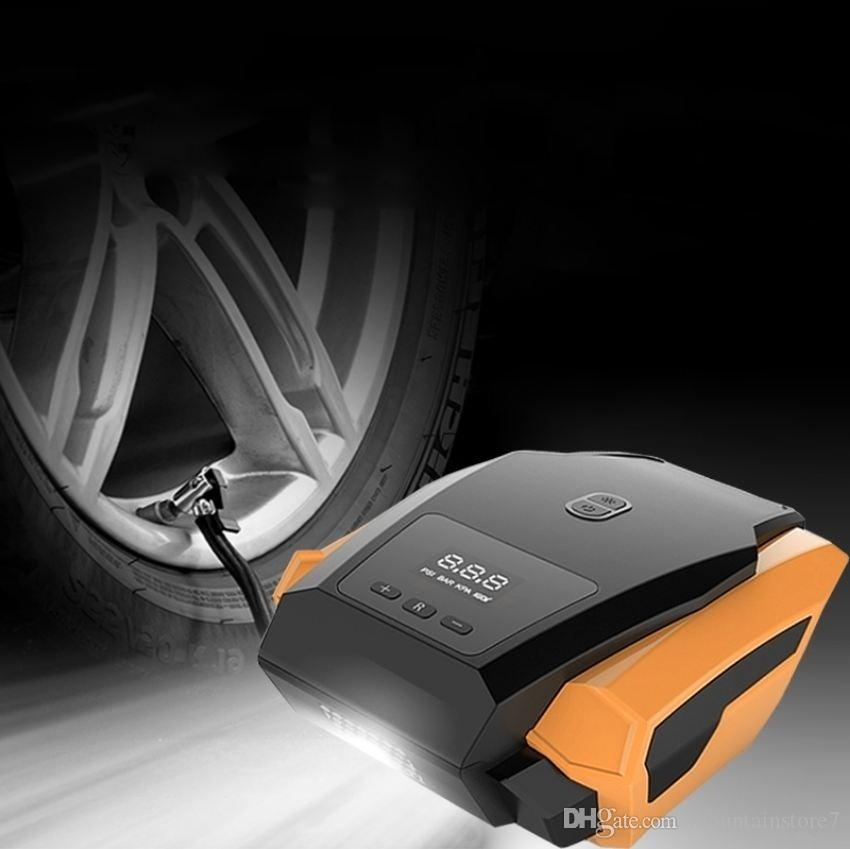 Car Inflatable Pump 12V Air Compressor Portable Automobile Tire Inflator  Mini Electric Automobiles on Cars Air Compressors Tool (Retail)