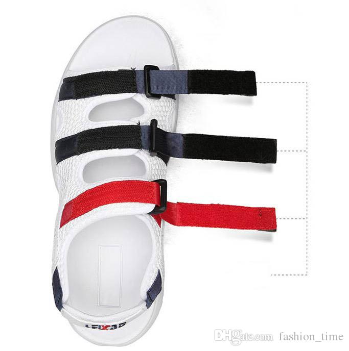 Made In China II 2 men women Summer Sandals black white red Anti-slipping Quick-drying Outdoor slippers Soft Water Shoes Beach Sandals