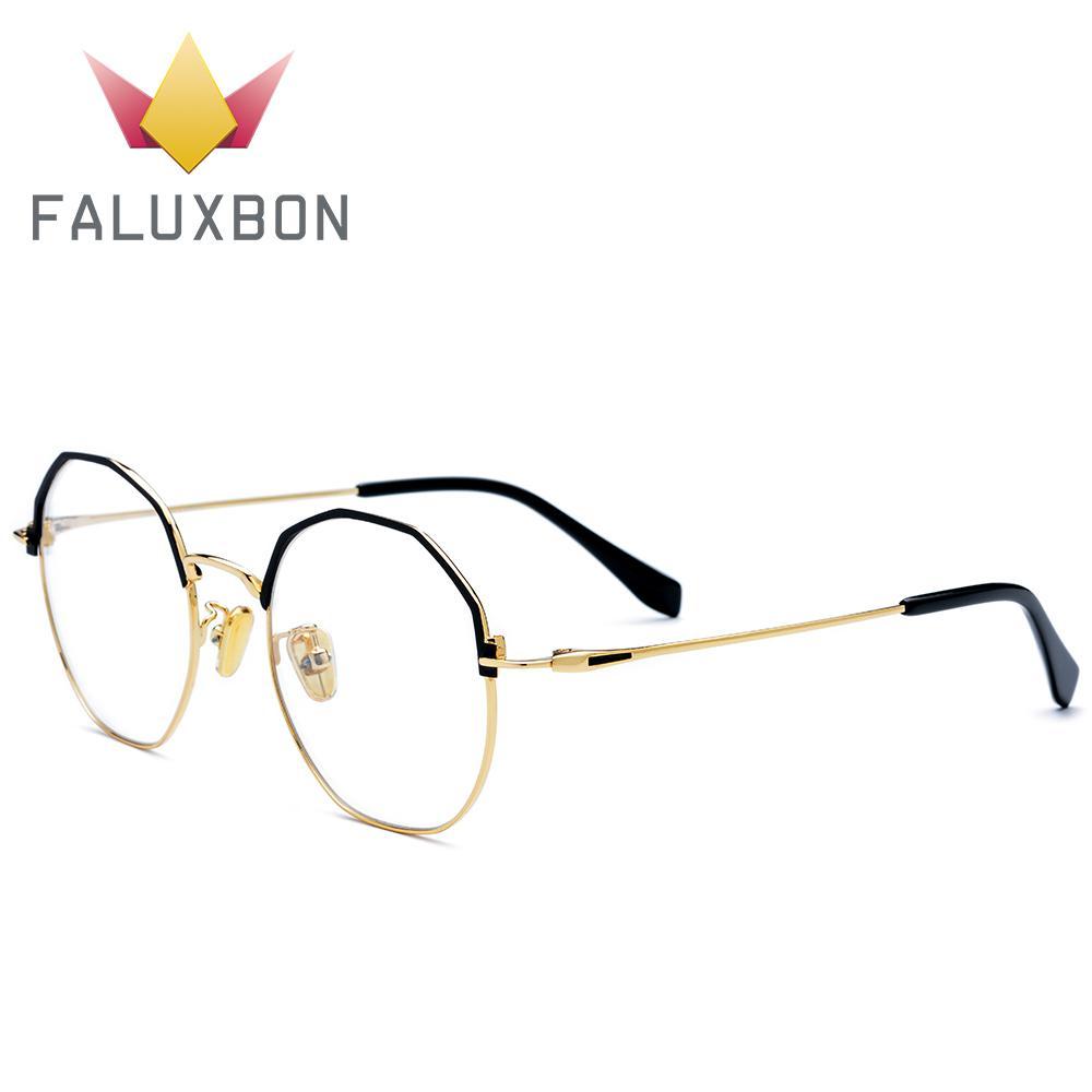 73cd46ad3df04 Compre Ultraleve Titanium Liga Polígono Prescrição Óculos Frame ...