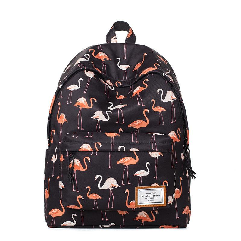 Brand Backpacks Women Bags 2019 New Fashion Flamingo Printing Backpack For  Teenage Girls Laptop School Bags Y237 Backpacks For Women Backpacks For  Teens ... c0cef0554347f