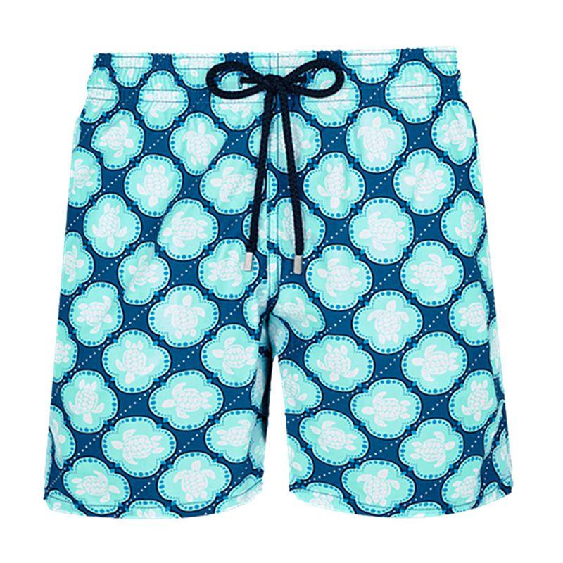 Gocgt Mens Elastic Drawstring Running Gym Shorts with Pockets