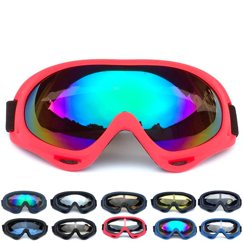New Sale Motorcycle Goggles Glasses Cycling Mx Off Road Helmet Ski Sport For Motorbike Moto Dirt Bike Racing Goggles Sports & Entertainment Skiing & Snowboarding