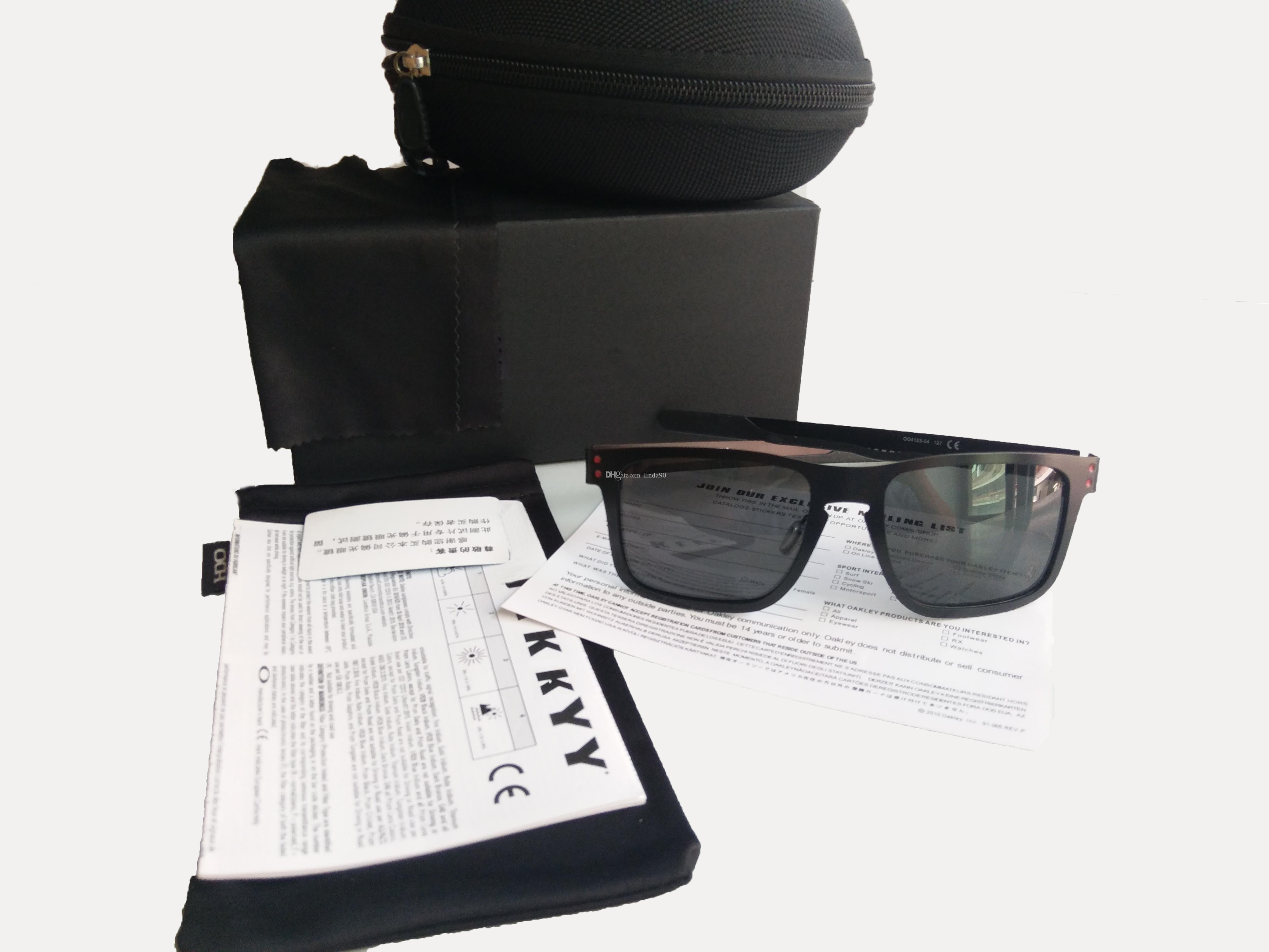 c0bc7d605d8 2019 2017 New Fashion Polarized Sunglasses Men Brand Outdoor Sport Eyewear  Women Googles Sunglasses UV 400 Metal Frame 41032 From Linda90